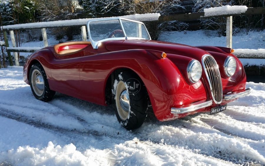 XK120 Roadster Red