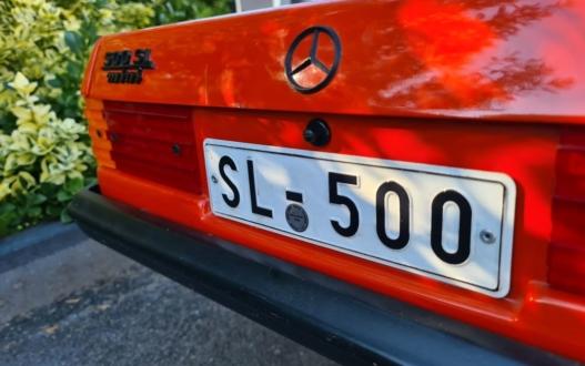 Mercedes 500SL mini Lorinser